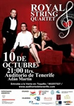 Koncert Royal String Quartet w Auditorio de Tenerife
